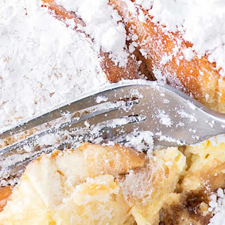 Creme Brulee French Toast.