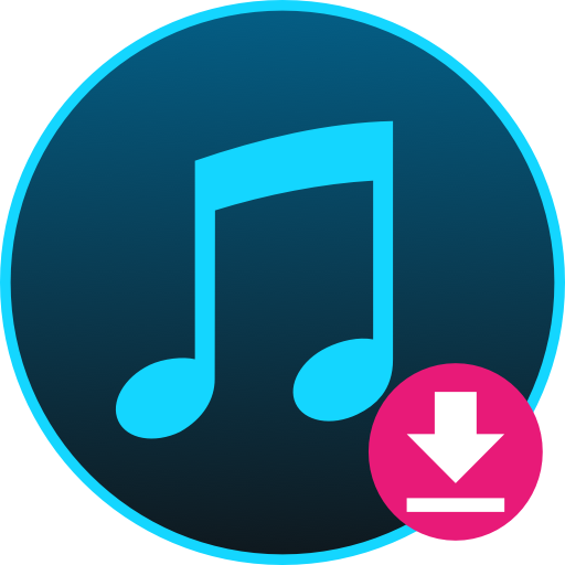 Free Music Downloader + Mp3 Music Download Icon