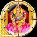 Lakshmi Devi Clock Wallpaper icon