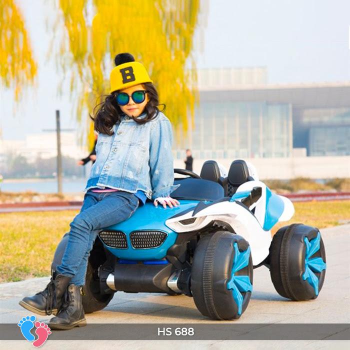 Xe ô tô điện địa hình cho bé hs-688 17