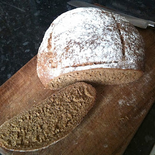 Old Fashioned Multigrain Molasses Bread.