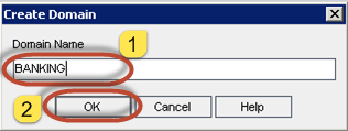 Create a Domain project in ALM