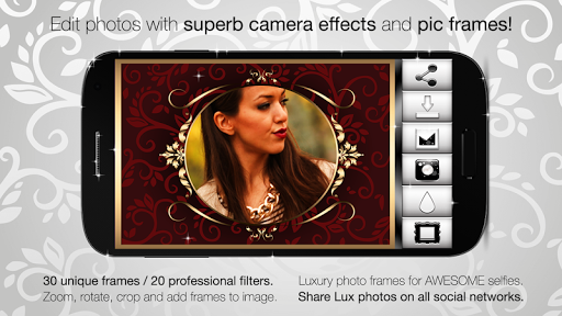 Lux Photo Effects Pic Frames