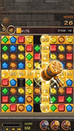 Jewels Temple Quest : Match 3- screenshot thumbnail