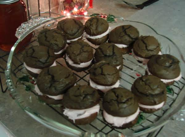 Truffle Whoopie Pies With Cranberry Cream Filling Recipe