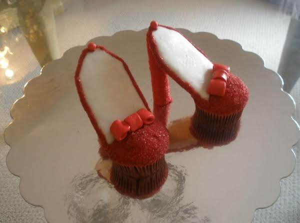 Fashion High Heel Cupcakes Recipe
