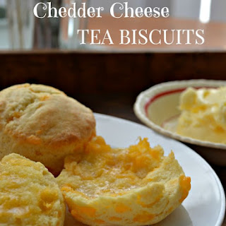 Cheddar Cheese Tea Biscuits.