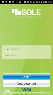 SOLE® Paycard 2.0- screenshot thumbnail