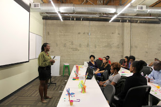 Photo: BUILDUP Design Thinking Workshop lead by Nancy Douyon, User Experience Research Program Manager at Google, sponsored by Accelerate with Google ( http://accelerate.withgoogle.com ) held at Galvanize in San Francisco  For more information on the workshop visit: http://buildup.vc/accelerate-with-google-sponsors-google-led-buildup-workshops/