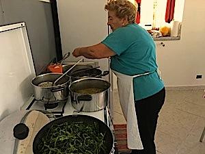 Grandma Santina homemade cooking