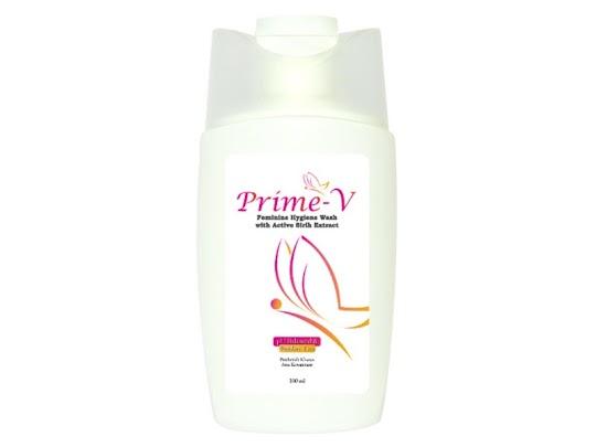 Feminine Hygiene Wash With Active Sirih Extract PRIME V pembersih kewanitaan mencegah keputihan gatal bau