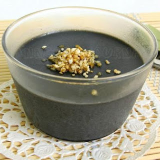 Black Sesame Cream Jelly