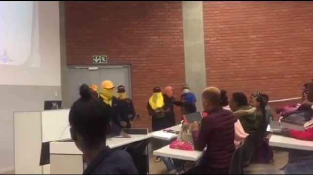 Daso and Sasco have denied involvement in the protests, but EFF Student Command said some of its members were involved.