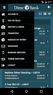 Dime Bank Mobile Banking- screenshot thumbnail