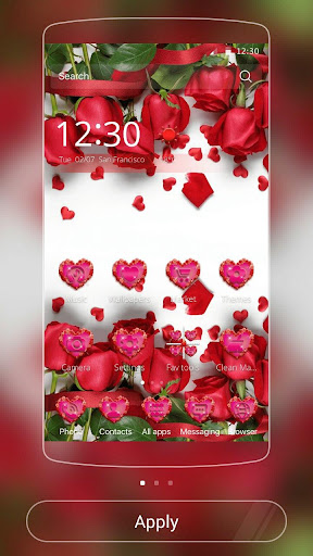 Download Red Rose Theme Live Wallpaper Google Play Softwares
