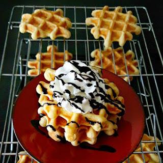 Same Day Mock Liege Waffles.
