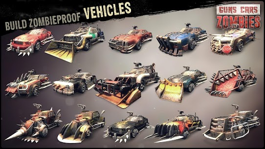 Guns, Cars and Zombies 4