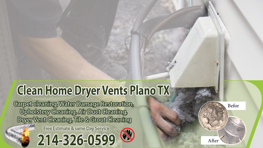 Clean Home Dryer Vents Plano Tx Please Contact Our Plano Cleaning Company Our Texas Technicians Will Make Sure That Your Dryer Vents Are Perfectly Fine