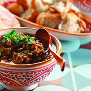 Moroccan Lentils & Table Bread by Chef Michael Smith.