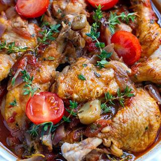 Instant Pot Italian Chicken Drumsticks With Garlic & Thyme.