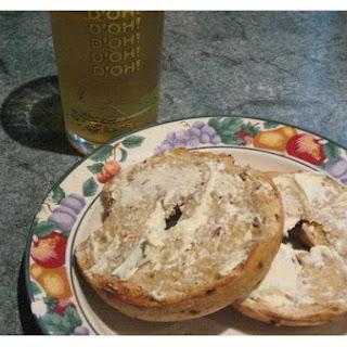 Bagel - Apple - Cheese Snack.