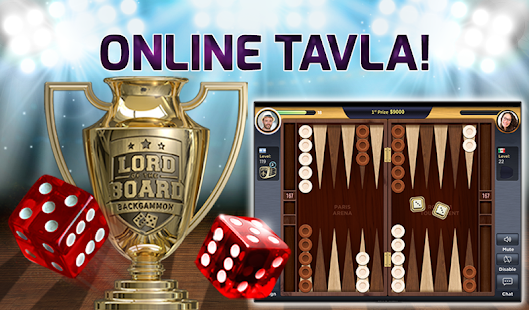 Backgammon – Lord of the Board: online tavla oyna! Ekran Görüntüsü
