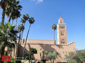 Photo: Koutoubia Mosque in Marrakech