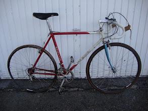 Photo: A bike I found in a hedge