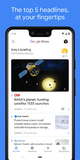 Google News: Top World & Local News Headlines screenshot 1