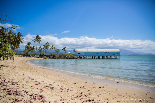 Australia-Cairns-beach - A beautiful beach in Cairns, Queensland, Australia.