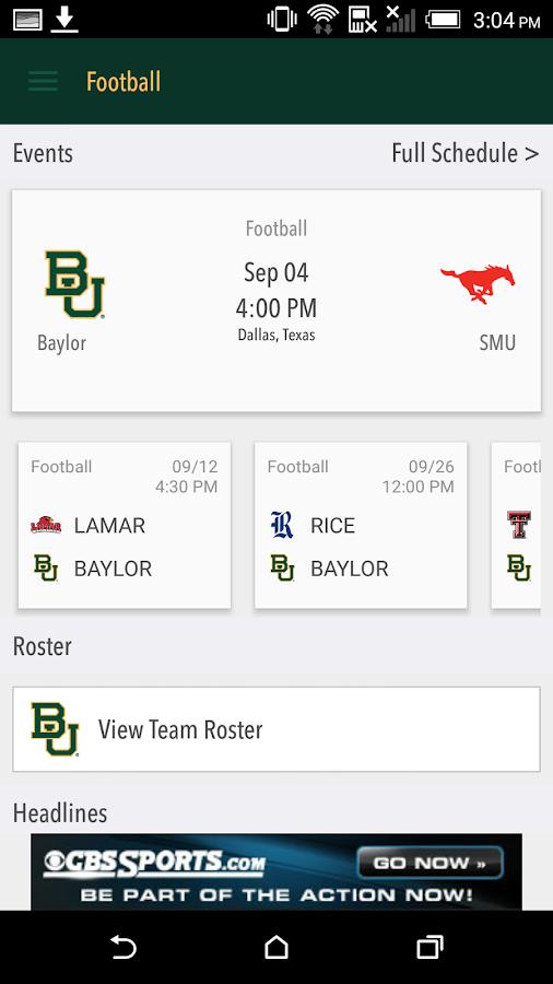 Baylor Bears Gameday LIVE- screenshot