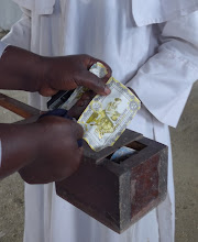 Photo: Local churches accepting offerings in Bangla-Pesa
