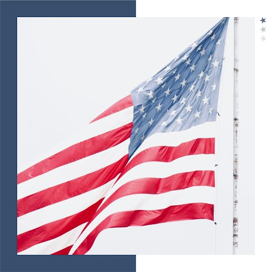 American Flag - Instagram Post Template