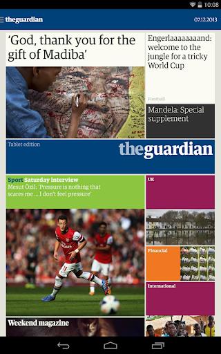 The Guardian daily edition screenshot 6