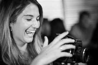 Photo: Playing with Mable  I caught a moment of pure joy as +Tessa Kit Zawadzkigot her chance to play with Mable, +Tana Teel's favorite camera. Like a kid in a candy store I don't think the smile left Tessa's face the whole time she played with this beauty of a camera.