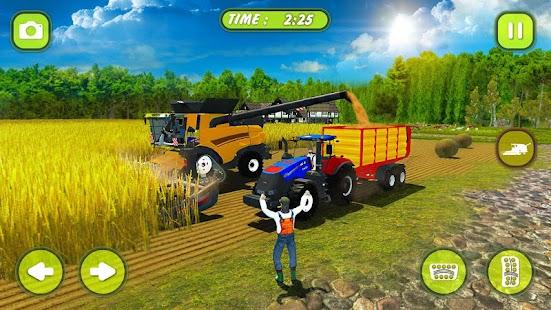 Gerçek Yem Traktör Tarım Simülatörü 2018 Oyun Ekran Görüntüsü