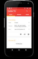Screenshot of YourBus TTC