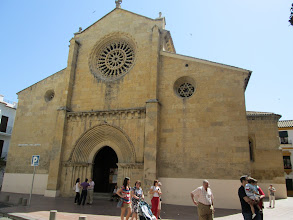 Photo: This was a church that I attended on a Sunday morning. I was surprised to find that the majority of Spaniards do not actively attend church or even practice a religion.