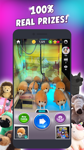 Clawee - A real claw machine - screenshot