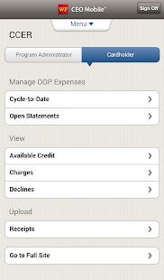 Wells Fargo CEO Mobile®- screenshot thumbnail