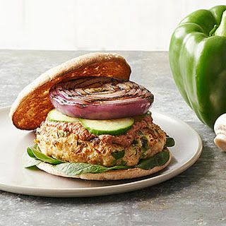 Mile High Turkey-Vegetable Burgers