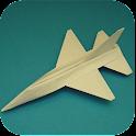 Origami Paper Plane icon