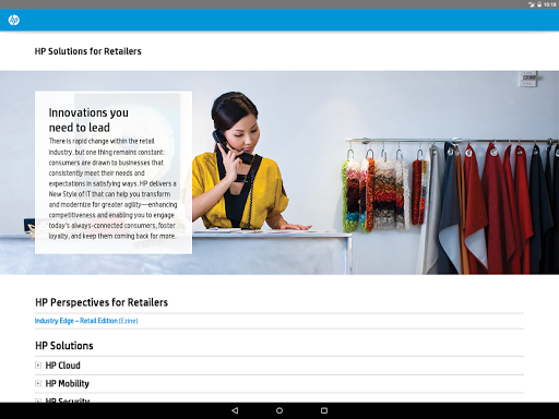 HP Solutions - Retailers