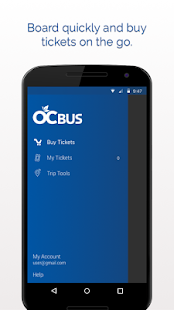 OC Bus Mobile Ticketing- screenshot thumbnail
