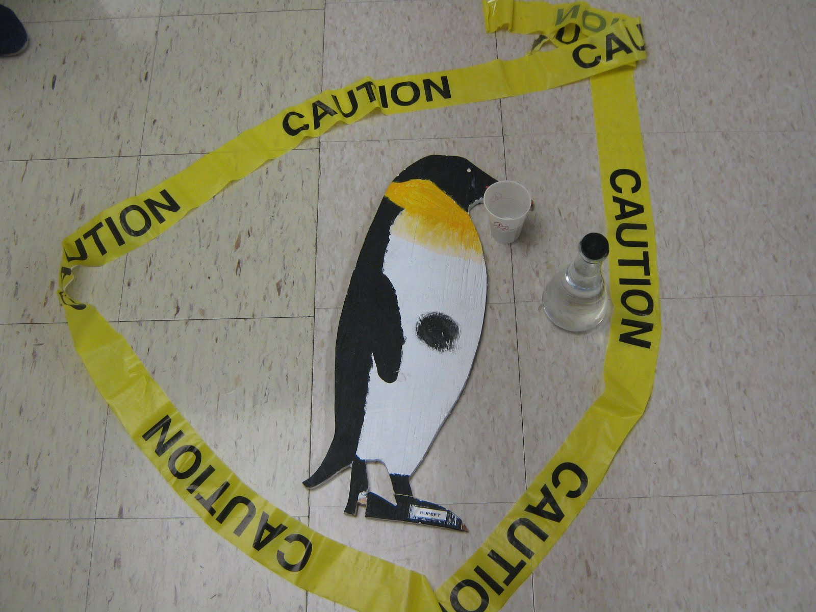Penguin in the Hall