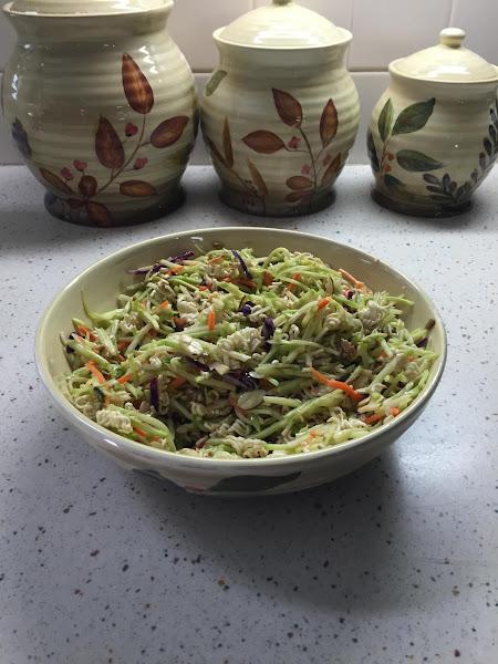 Iris's Broccoli Cole Slaw Recipe