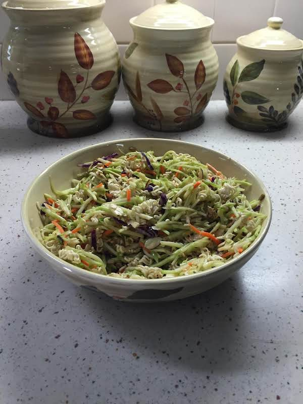Iris's Broccoli Cole Slaw Recipe