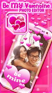 be my valentine photo editor screenshot thumbnail valentine photo editor