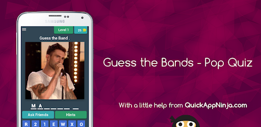 Guess the Bands - Pop Quiz - Apps on Google Play