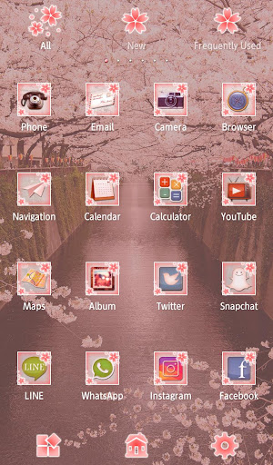 Wallpaper Sakura Arch Theme 1.0.0 Windows u7528 3